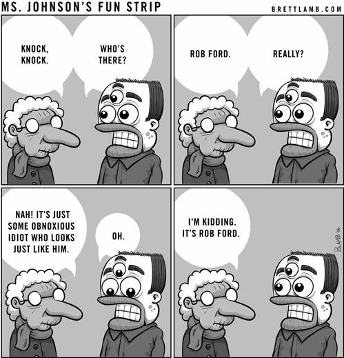 ms johnson comic